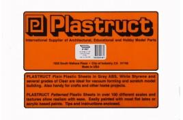 91687 Diamond Plate Embossed Plastic Sheet x 2  OO/HO Scale