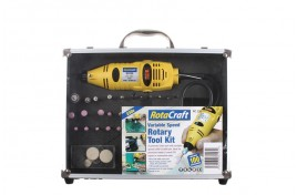 RC230 Variable Speed Rotary Tool Kit with Collet Set & 100 Accessories
