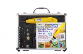 RC18 Variable Speed Mini Rotary Tool Kit with 60 Accessories