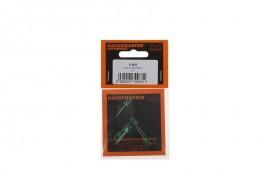 12v Green 5mm LEDs x 5