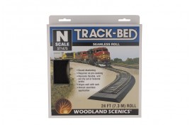 Track Bed / Underlay Strip Continuous Roll N Scale