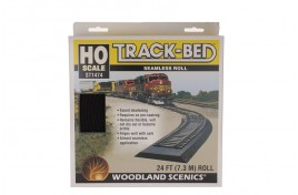 Track Bed / Underlay Strip Continuous Roll OO/HO Scale