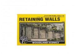 Retaining Walls Cut Stone x 6 N Scale