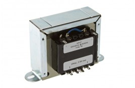 Open Transformer Output 1 x 24V Ac @ 2.5A