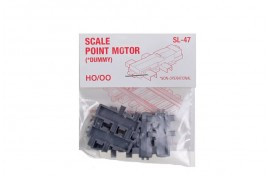 Dummy Scale Point Motors Pack of 6 OO Scale