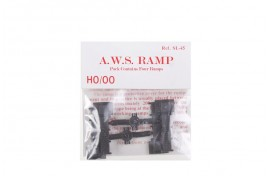 Dummy AWS Ramps Pack of 4 OO Scale
