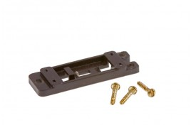 Mounting Plates with Screws for Extended Pin Turnout Motors Pack of 5