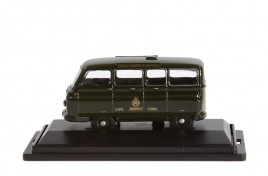 Morris J2 Minibus Civil Defence Corps OO Scale