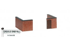 Bay Terraced Garden Wall - Corners x 2 - Last Few Remaining! N Scale
